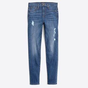 "J. Crew 10"" Highest Rise Skinny Jean"